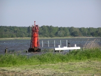 Lateral mark at the Elblag River
