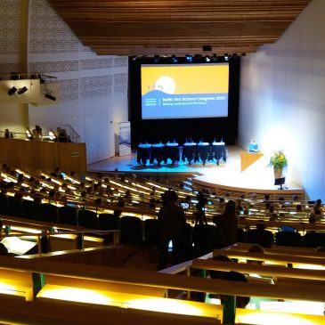 LiveLagoons at Baltic Sea Science Congress